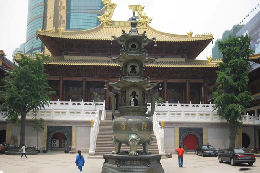 上海静安寺藏经阁